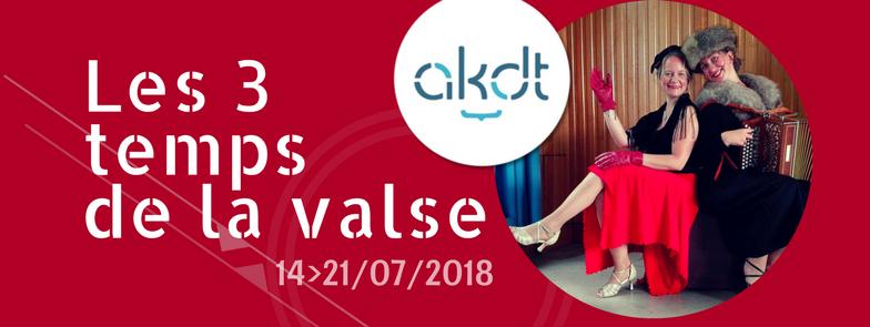 Stage d'été de Valses / Walzes summer school @ AKDT 2018 (Belgium)